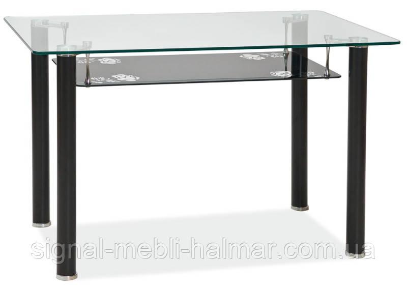 Стол обеденный стеклянный Pino 120*75 SIGNAL