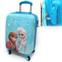 """Детский чемодан дорожный, кодовый замок,  """"Josef Otten"""" Холодное Сердце, Frozen на четырех колесах 520303"""