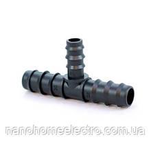 Трійник для Трубки 12 мм МС-0112