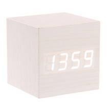 """Цифровые светодиодные деревянные часы """"КУБ"""", фото 3"""
