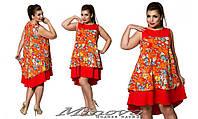 Платье 50-58 разные цвета