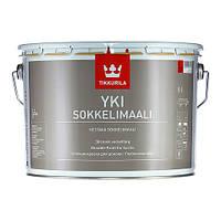Щелочестойкая акрилатная краска ЮКИ ,YKI Sokkelimaali База А 9л