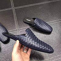 Мужские кожаные тапочки, фото 1