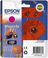 Картридж струйный EPSON 17 XP103/203/207 magenta (C13T17034A10)