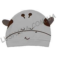 Трикотажная шапочка Соня на 3-9 месяцев