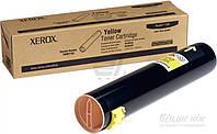 Тонер-картридж Xerox  yellow 106R01162