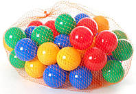 Мячики для палаток и сухого бассейна 6 мм (40 шт)