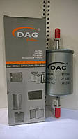 Фильтр топливный DAG DF2000 (Daewoo, ВАЗ двиг.1,6) (аналог KL83,KL573)