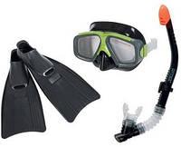 Intex 55959 детский набор для сноркилинга Surf Rider Sport Маска+Трубка+Ласты