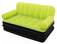 Надувной диван - трансформер 2 в 1 Best Way+насос и сумка для хранения