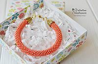 Браслет оранжевый, фото 1