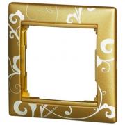 Рамка 1-местная, золото барокко, Legrand Valena Легранд Валена