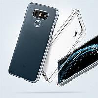 Ультратонкий 0,3 мм чехол для LG G6 прозрачный
