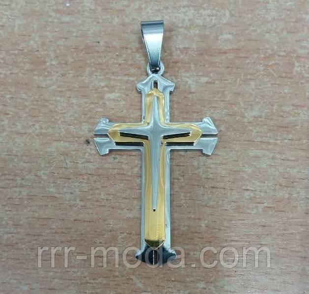Ювелирная мужская бижутерия RRR, мужские кресты оптом.