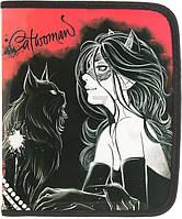 Папка для тетрадей  В5 Catwoman ожерелье Апельсин