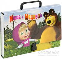 Папка портфель  Маша и Медведь 304\MM А4 iTEM