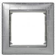 Рамка 1-местная, алюминий модерн, Legrand Valena Легранд Валена