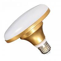 Лампа Lemanso НЛО LM726 12W E27 720LM золото 85-265V