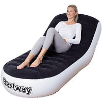 Надувное кресло Bestway 75064 Chaise Sports Lounger (84x165x79 см), фото 1
