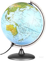 Глобус физический Орион 30 см укр. язык с подсветкой Tecnodidattica