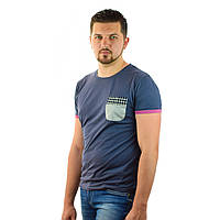 Стильная мужская футболка Ytwo Jeans  с кармашком, с коротким рукавом