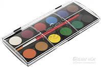 Краски акварельные  12 цветов сухие 125011 Faber Castell