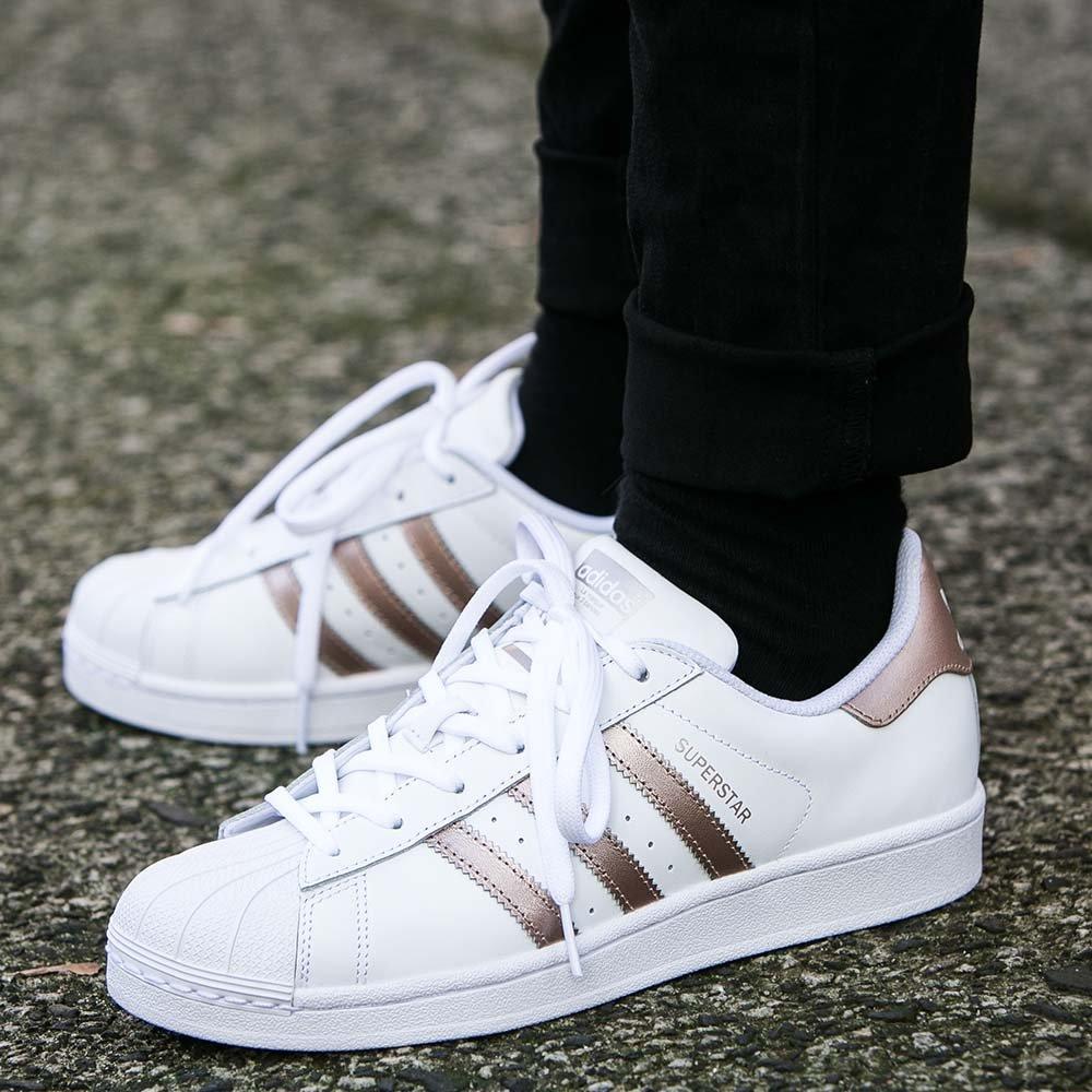 """Оригинальные женские кроссовки Adidas Superstar Women """"Supplier Colour"""""""