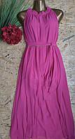 Платье+пояс Венера 13410 малина 44-52р