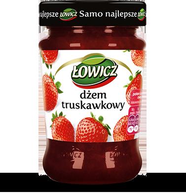 Джем из клубники Lowicz Dzem Truskawkowy, 280 грамм