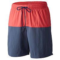 Мужские шорты Columbia LAKESIDE LEISURE ™ SHORT II сине-красные AJ1116 684