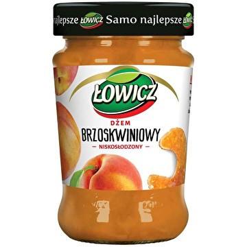 """Джем со вкусом персика """"Lowicz"""", 280 грамм"""