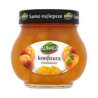 """Конфитюр со вкусом персика """"Lowicz"""", 240 грамм"""