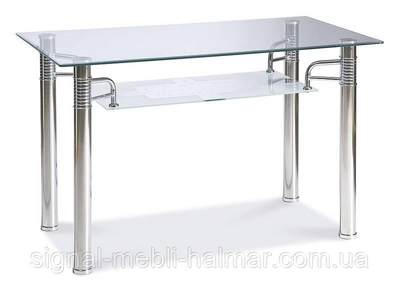 Стол кухонный стеклянный Reni A 120x65 SIGNAL