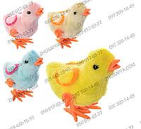 Заводная игрушка 16730 цыпленок, развлечение для малышей, представлено 4 цвета, в кульке 13*10*6 см