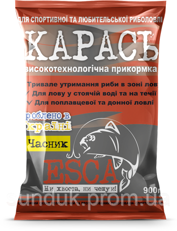 "Прикормка Esca ""Карась-Чеснок"""