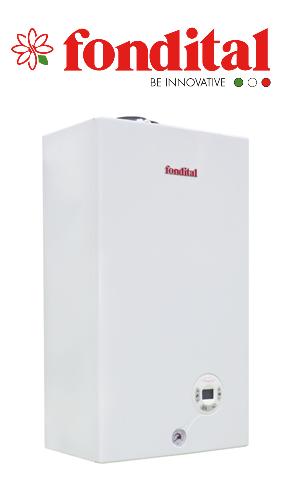 Газовый настенный котел Fondital Minorca CTFS  9 кВт, 2-х контурный, турбо (Италия), фото 1