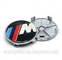 Заглушки ковпачки литих дисків BMW M-power