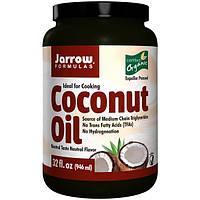 Сертифицированное Органическое масло кокоса  (раф.) 946 мл   Филиппины для Jarrow Formulas USA