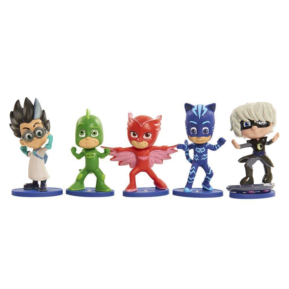 Игровой набор фигурки Герои в масках -Ромео, Луна Герл, Кэтбой Гекк Just Play PJ Masks Collectible Figure Set