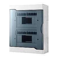 Щиток для автоматов Lezard Бокс с прозрачной крышкой ЩРН-П-16 для наружной установки 16-и модульных устройств