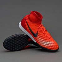 Сороконожки Nike MagistaX Proximo II DF TF - Total Crimson/Black/University Red