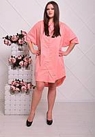 Стильное женское платье Батал н-202347