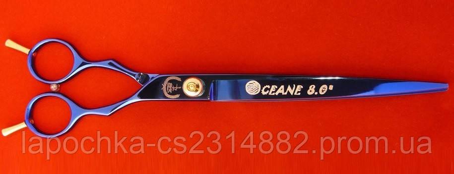 """Ножницы Power&Working Oceana для груминга, изогнутые,  13,97 см (5,5"""")"""