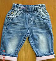 Капри летние джинсовые F&D для девочки.