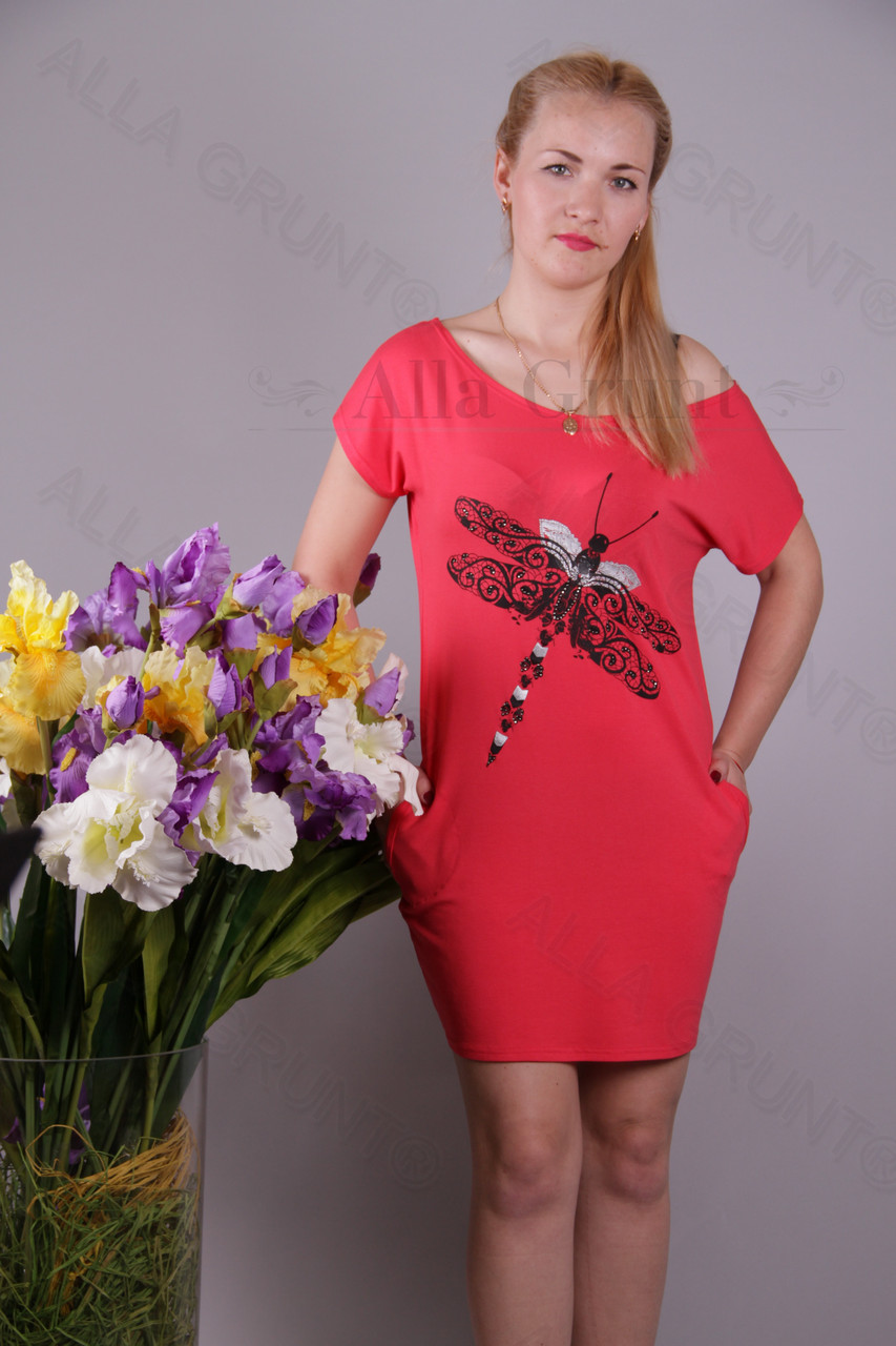 Сарафан 420-осн110-94 полубатал оптом от производителя Украина