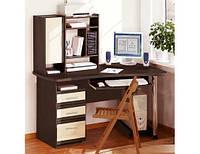 Комп'ютерний стіл 1.43 х 0.9 м з тумбою СК-3737
