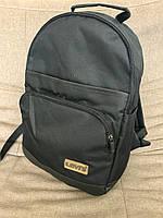 Рюкзак Levis дно эко-кожа R-50 (черный+черное дно), фото 1