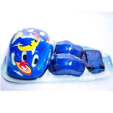 Детский комплект защиты для катания на скейте роликах гиробордах