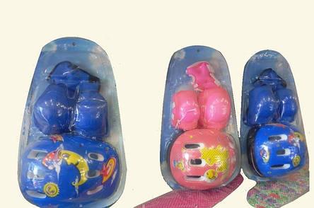 Детский комплект защиты для катания на скейте роликах гиробордах, фото 2