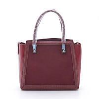 Женская сумка 2в1 Ronaerdo 91136 bordo